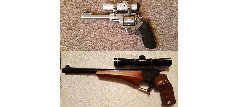 Gunfight Friday: Deer-Hunting Handguns