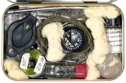 Survival kit for your pocket