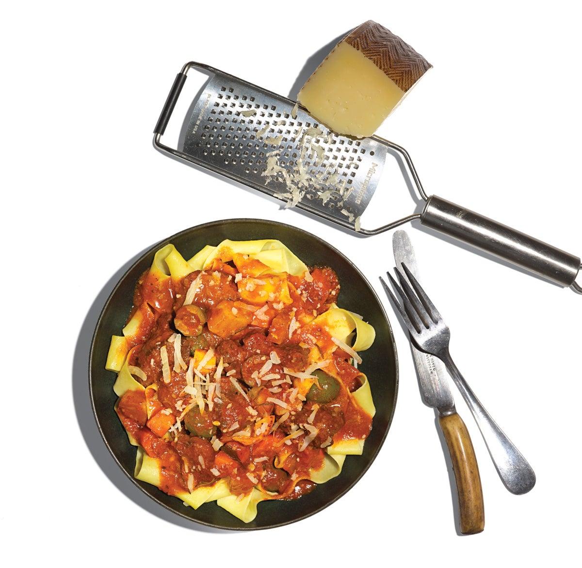 spring venison recipe, spring venison, venison pasta recipe, venison pasta,