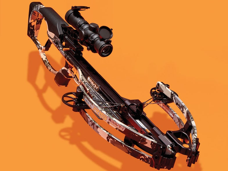 lightning-fast R15 crossbow