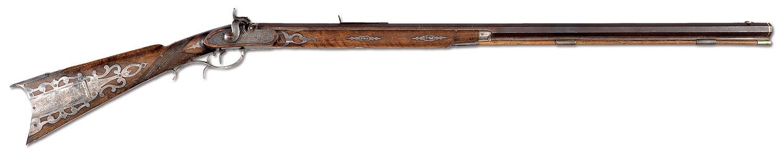 Hawken .52-caliber percussion rifle, Atchison