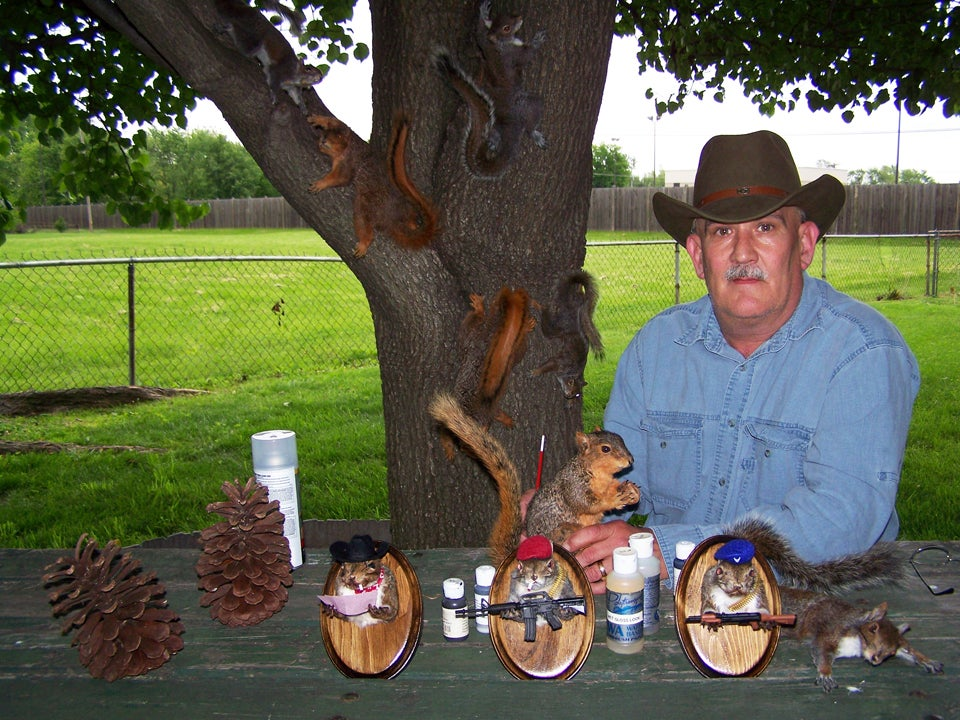 A Mount For Every Taste: The Extremes of Squirrel Taxidermy