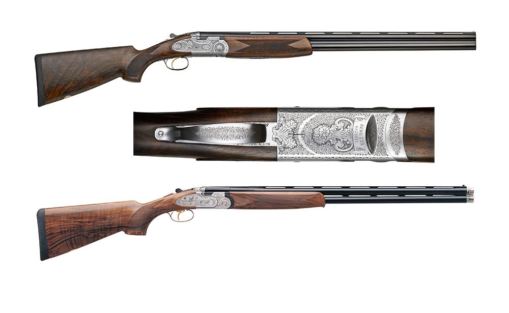 The Beretta 680 Series shotgun on a white background.