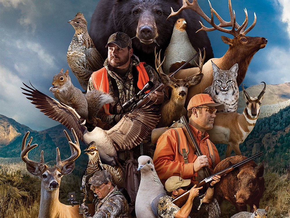 hunting season opening day collage