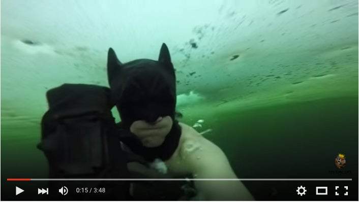 The Old Batman Under The Ice Prank Again, Eh?