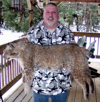 Dalton F. Spingler shot this female bobcat on March 5 in Massachusetts.