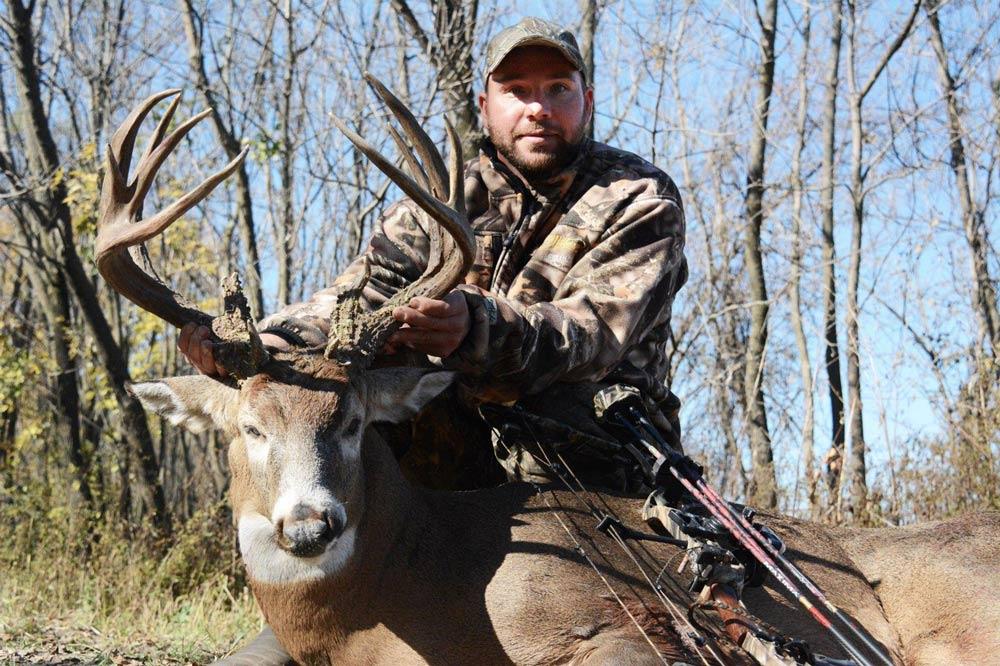 193-inch buck taken during rut