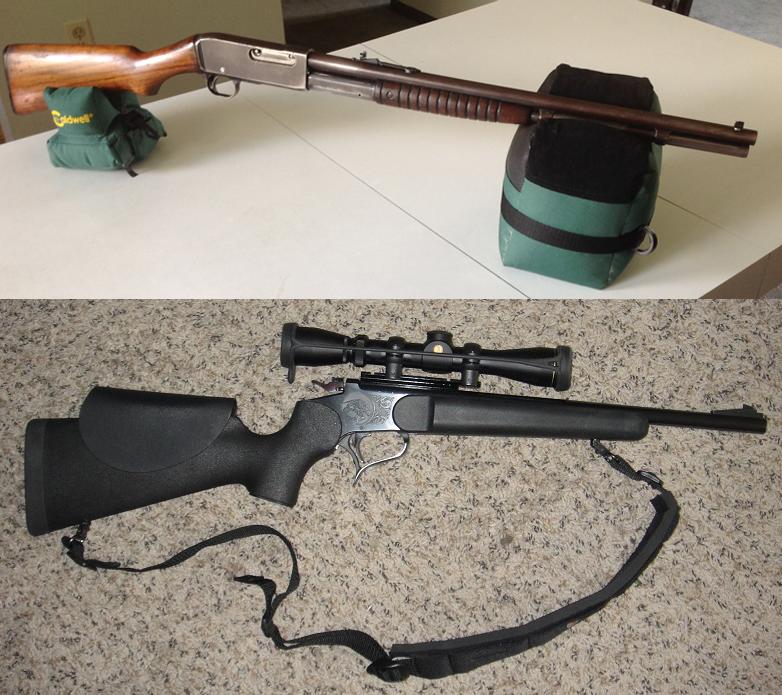 Gunfight Friday: Straight-Wall Deer Rifles
