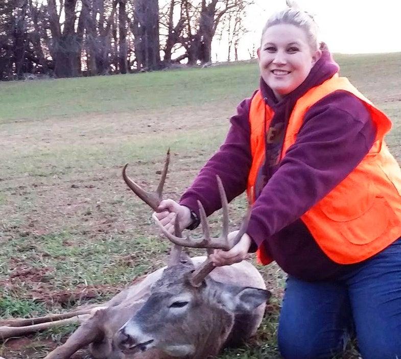 Kansas Hunter Tags 10-Point Antlered Doe