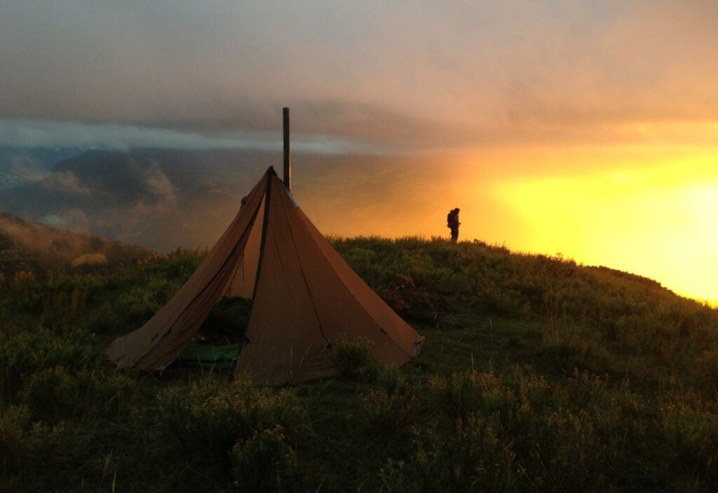 The Seek Outside Four Person Ultralight Tipi Tent