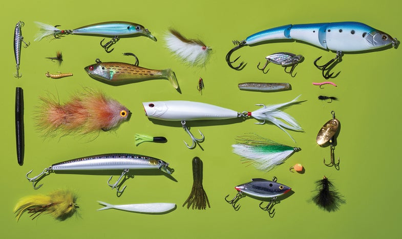 The 25 Best Lures and Flies for Spring Fishing