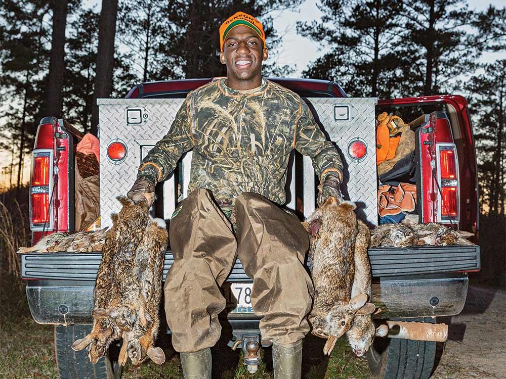 swamp rabbit hunter treymane benson