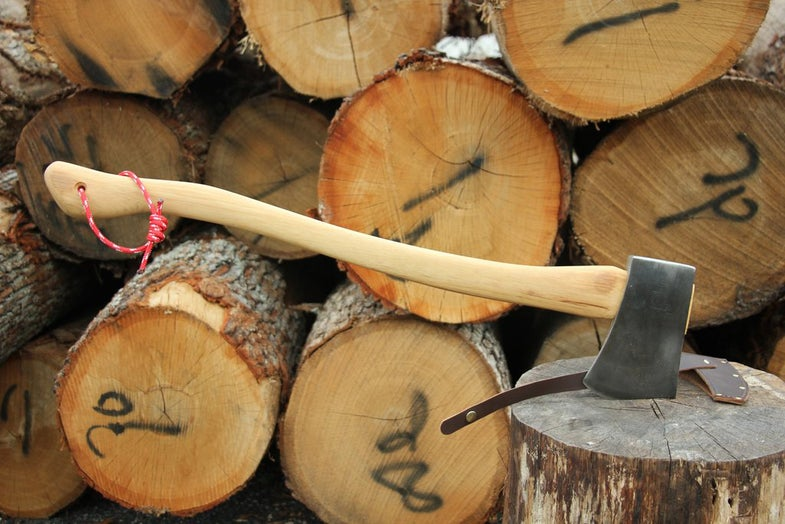 refurbished axe, brant & cochran, maine