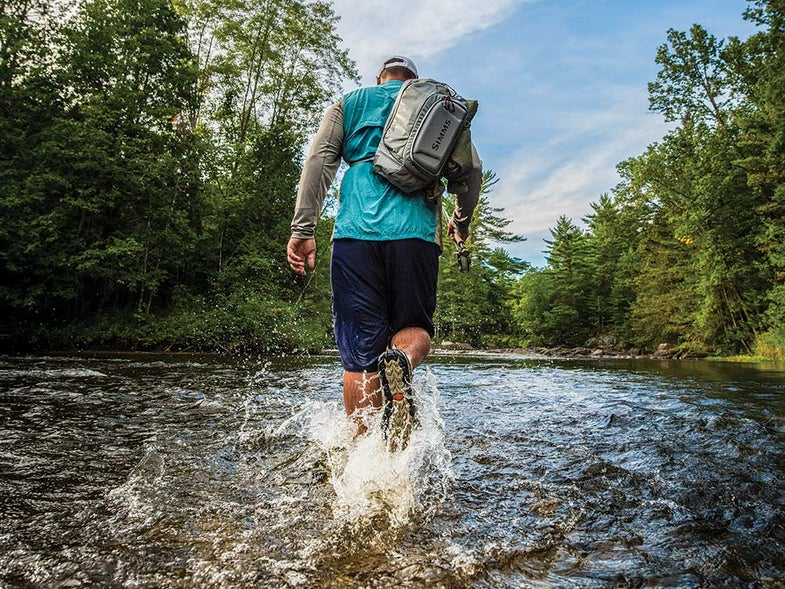 Your own two feet can guide you to bigger summer bass than the best outboard engine.