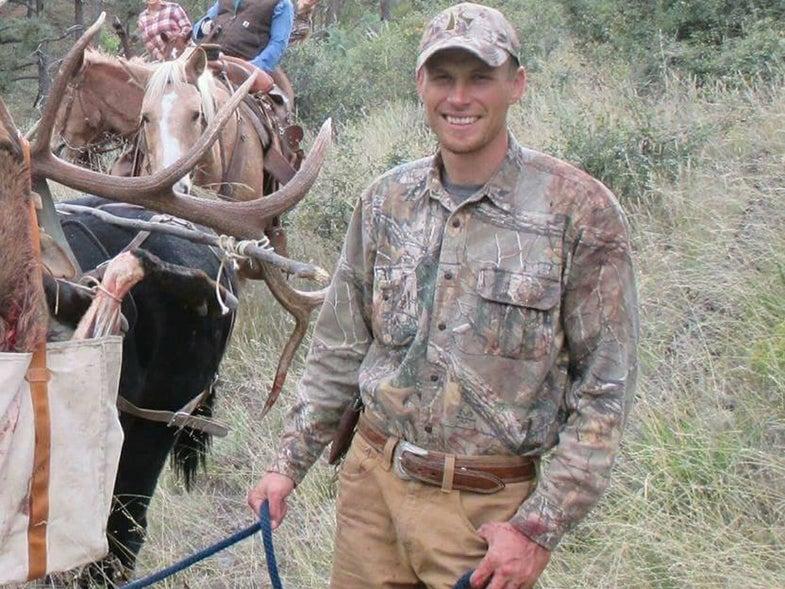 hunting guide shot
