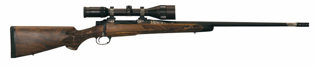 The Jarrett Signature Rifle on a white background.