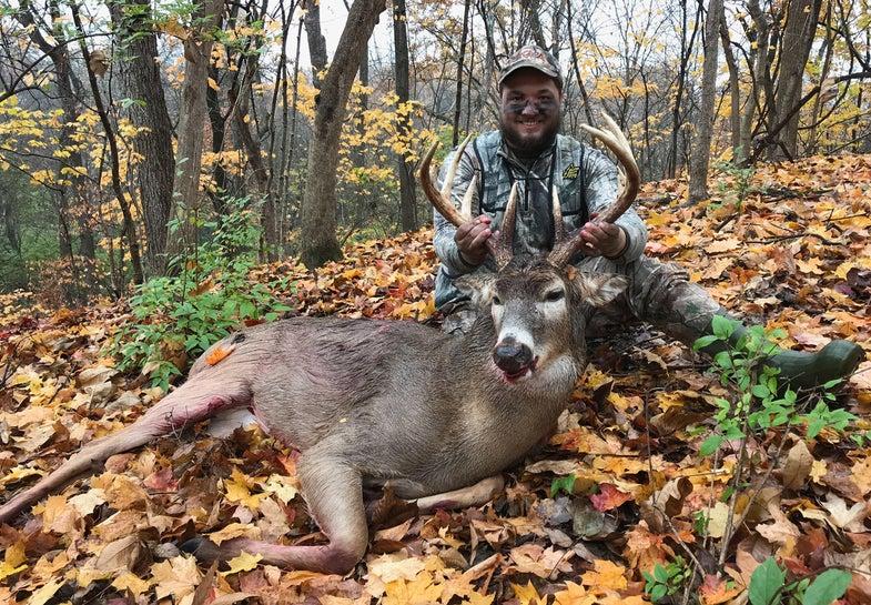 Nick, hunter, Illinois, buck