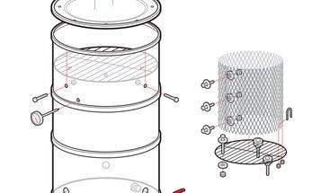 How to Make a Scrap-Metal Smoker