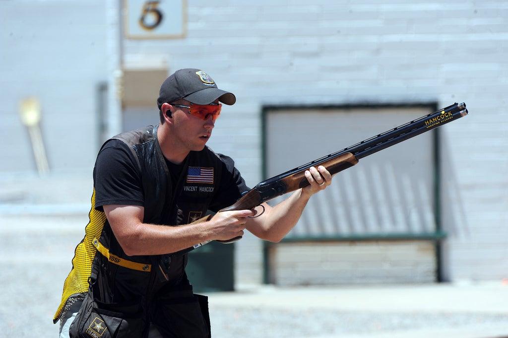 shotgun athlete