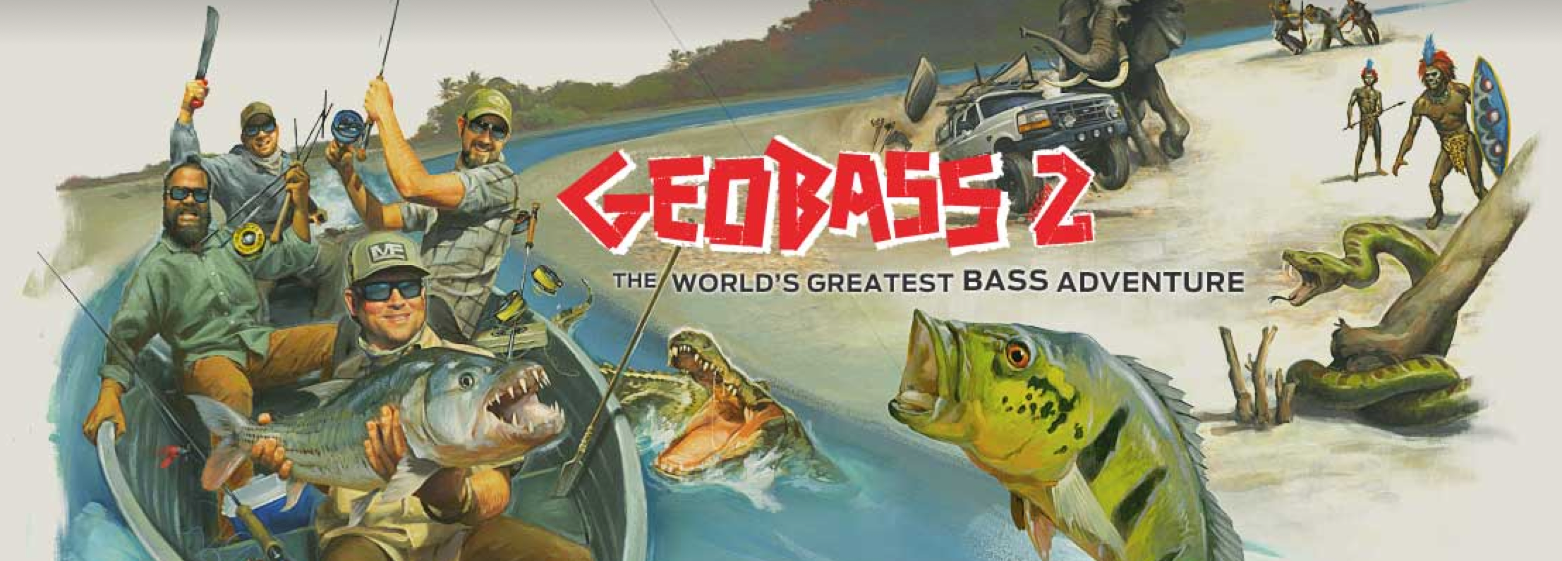 Video: Geobass Crew heads to Brazil for Peacock Bass