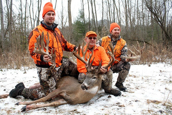 Public-Land Giant Will Likely Be New Minnesota Blackpowder Record Buck
