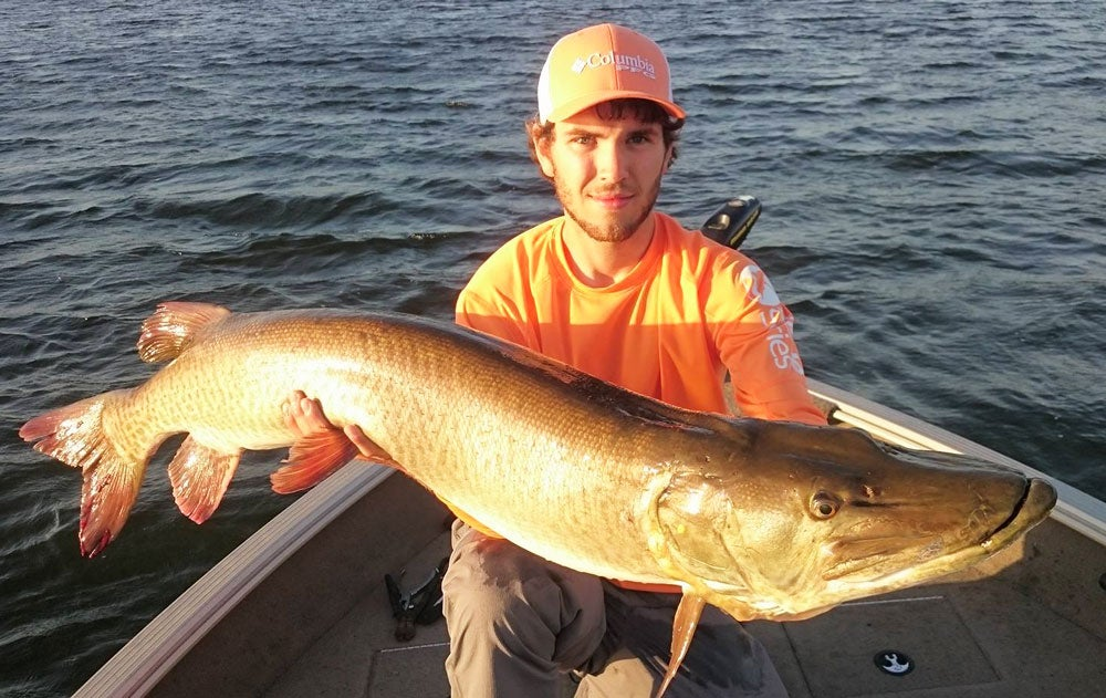 57-Inch Muskie Is New Minnesota Catch-and-Release Record