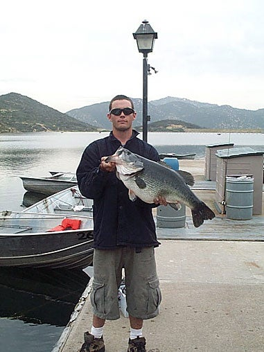 New Photo Gallery: Giant  bass from California's Dixon Lake