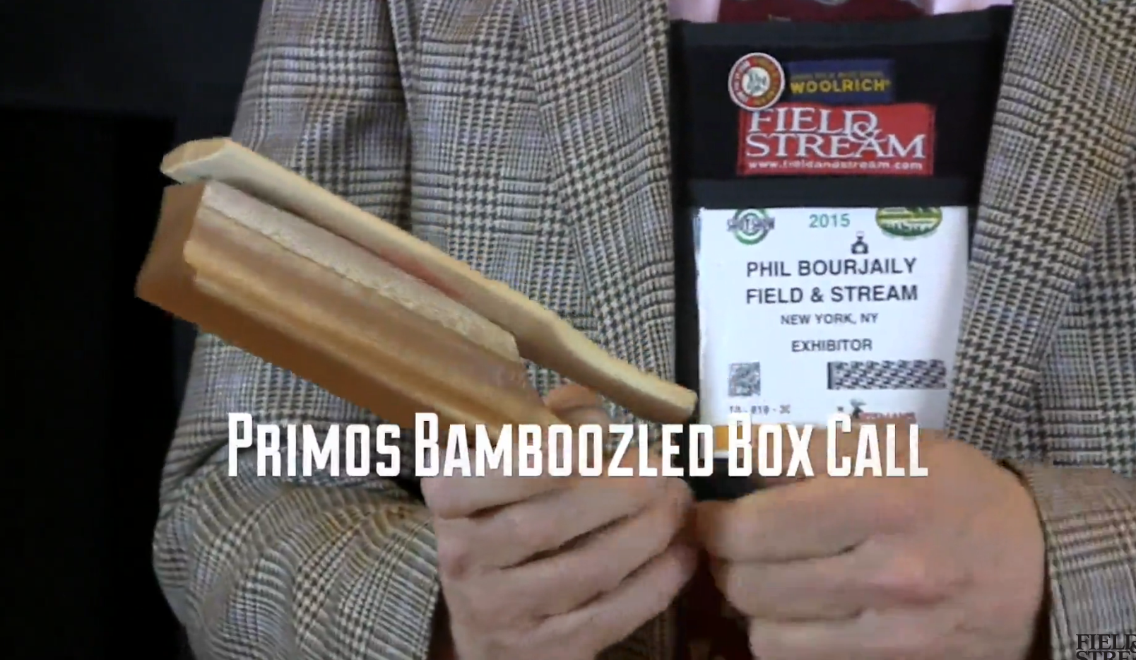 New Turkey Gear: Primos Bamboozled Box Call