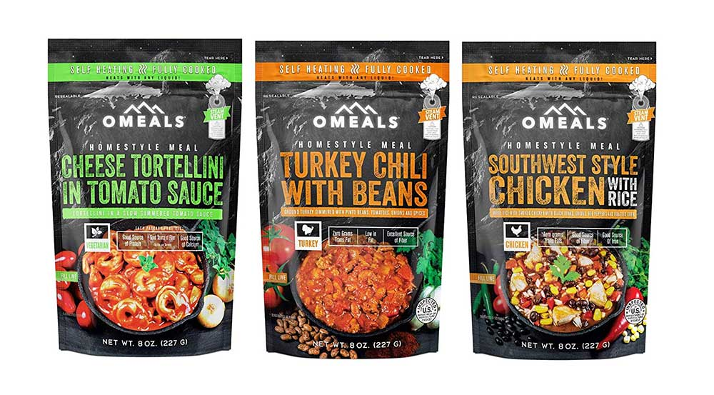Omeals Self Heating Meals