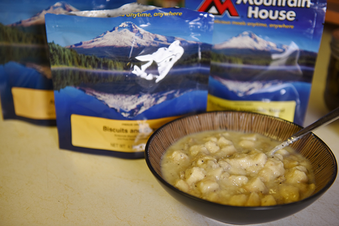 Review: Mountain House Biscuits and Gravy