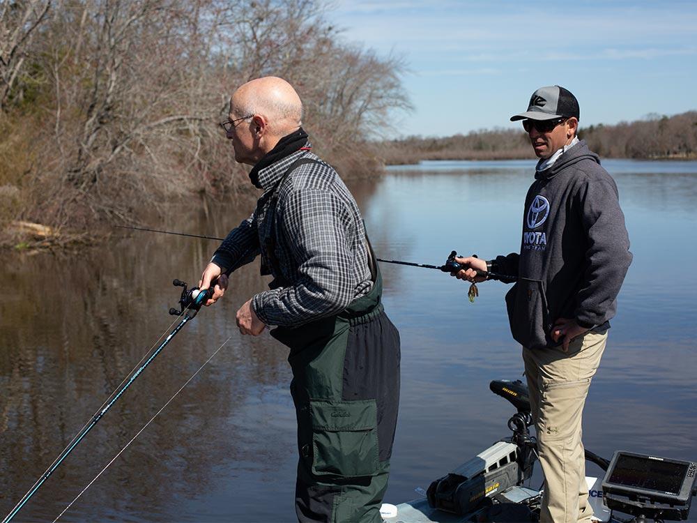 bill heavey mike iaconelli bass fishing