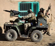 MK-47 Mounted on ATV Might be Overkill for Duck Season