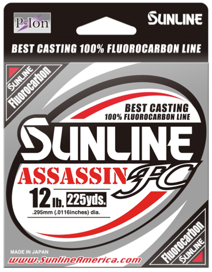 Gear, Fishing Gear, New Line, Sunline Assassin FC, Mark Modoski