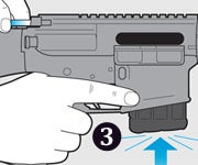 Clear a Jammed AR Rifle in 3 Steps