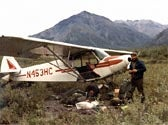 Flying to the Alaskan Circle