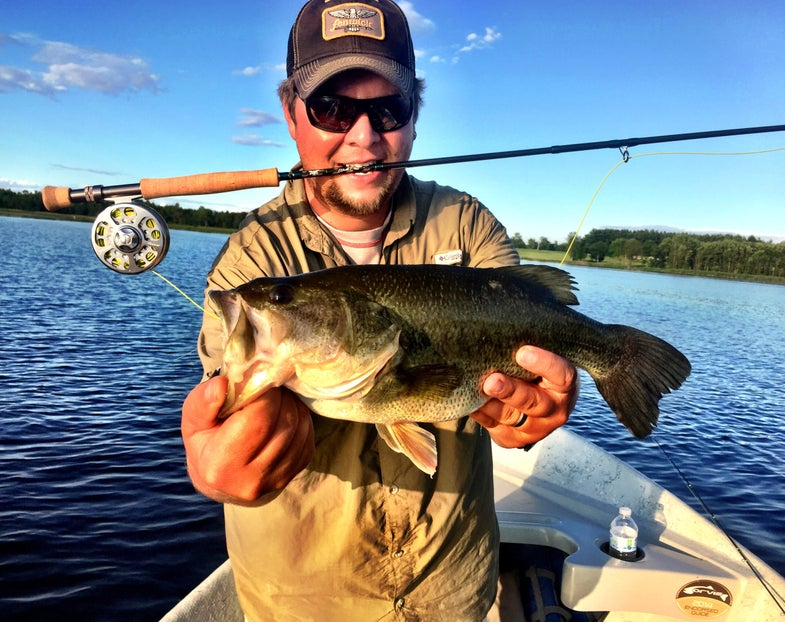 """Catch More Bass Late And Early By Targeting """"Hard Lines"""""""