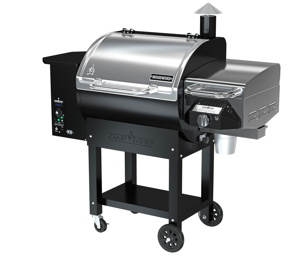 Camp Chef Woodwind Pellet Grill and Sear Box