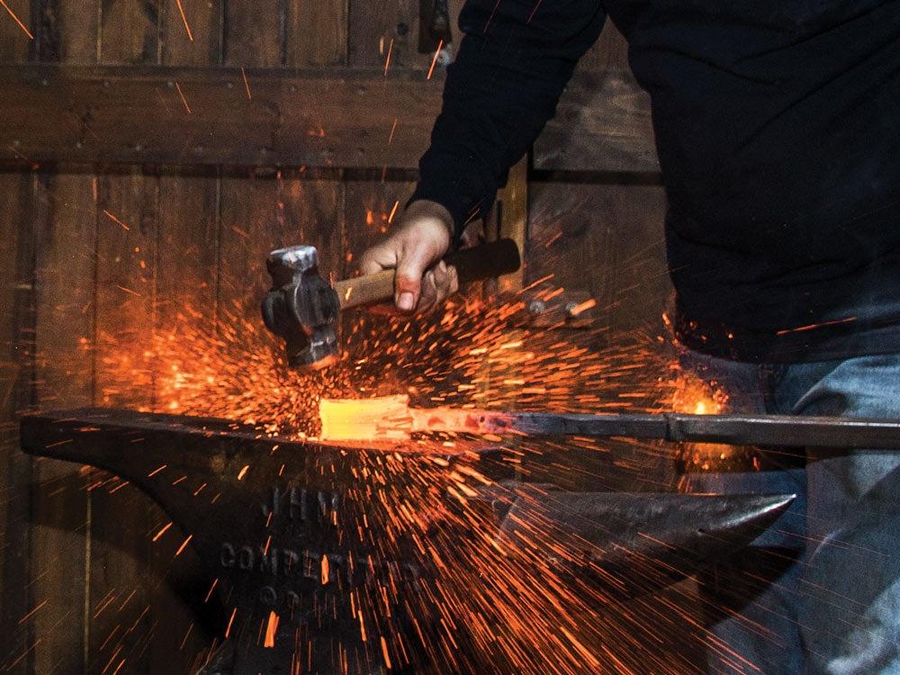 burt foster forging knife