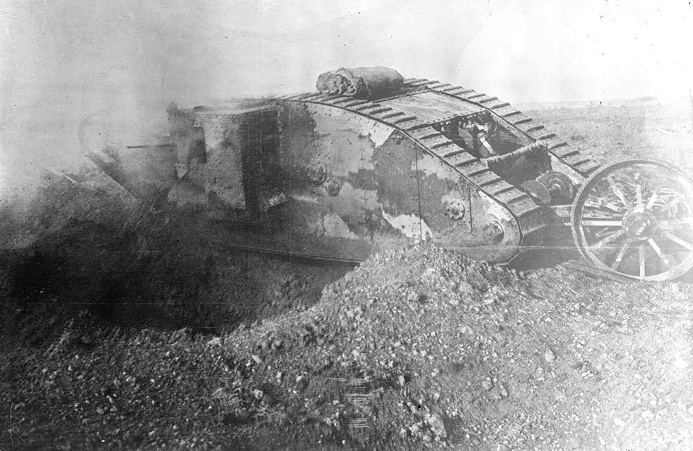 Quick-firing 6-pounder Hotchkiss cruiser tank