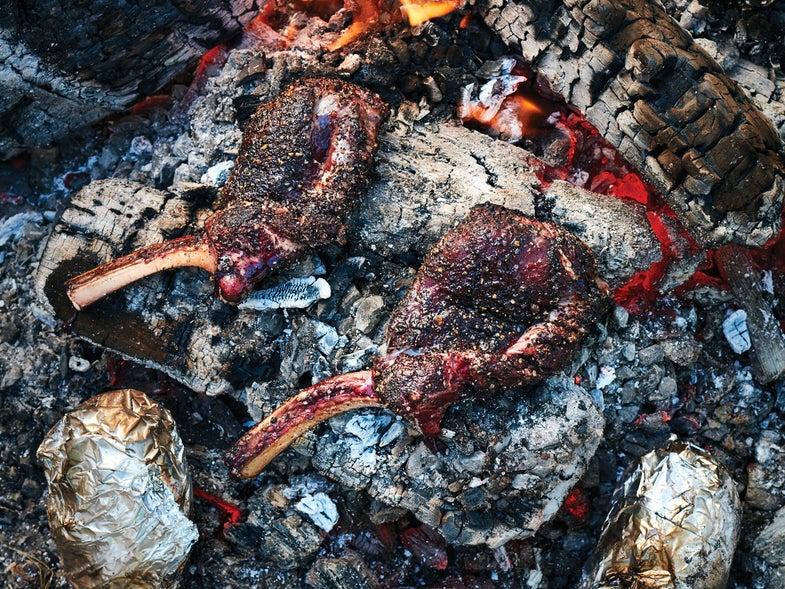 Recipe: Caveman Elk Steaks—No Grill Required