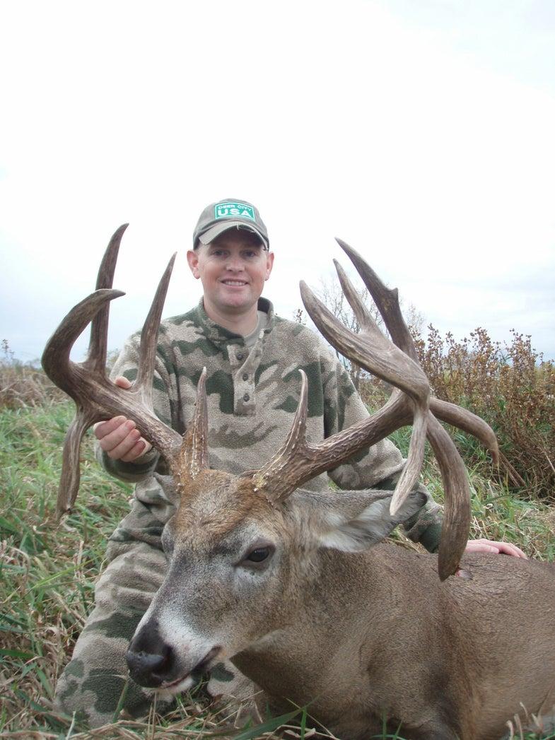 Deer Hunting Ohio Guardsman Tags Quadruple Drop-Tine Whitetail