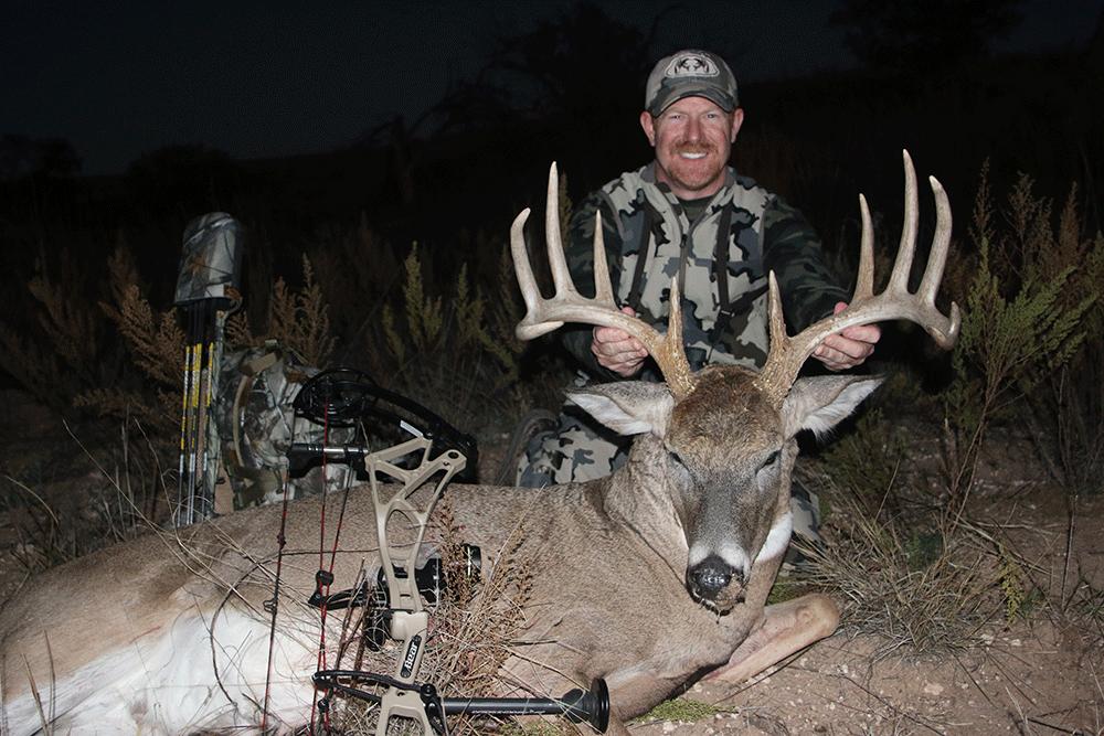 Big Buck Down on the Texas Prairie