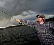 Giant Lake Trout on the Fly?