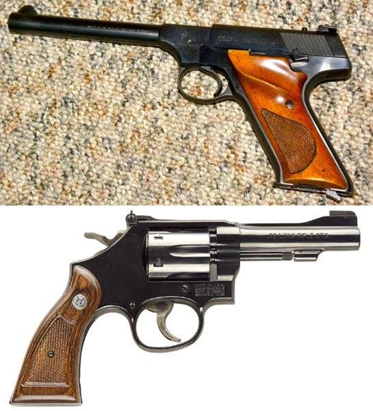Gunfight Friday: Colt Targetsman vs. S&W 18