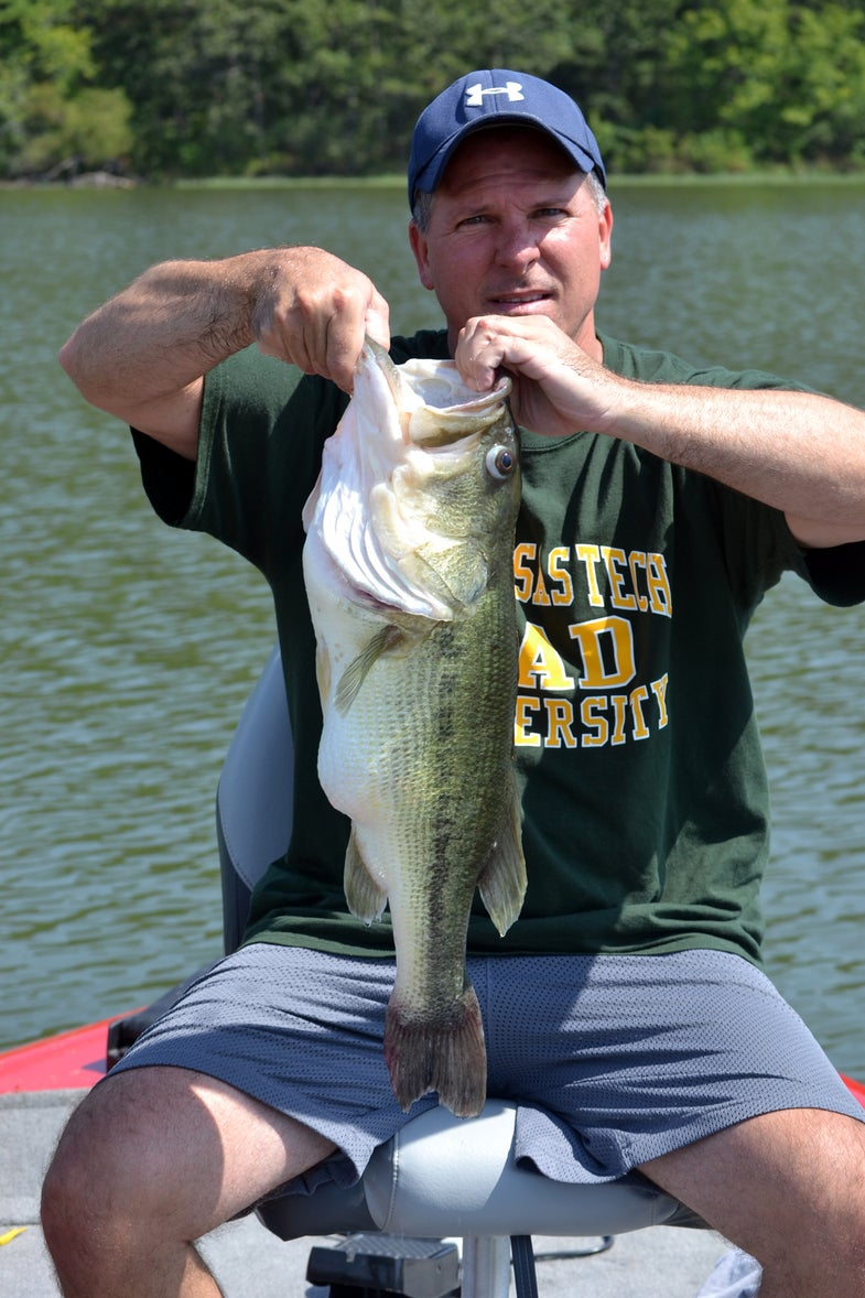 Photos: Family Rescues Bass Choking on Fish
