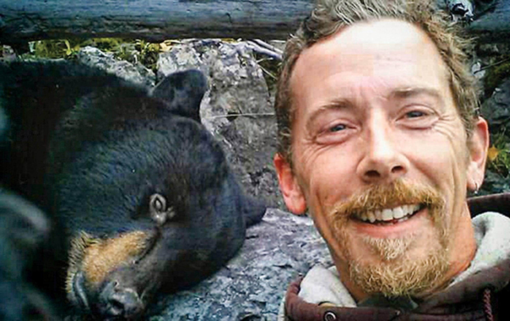 bear hunter survives