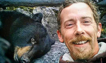 Close Call: A Bear Hunter Goes Overboard
