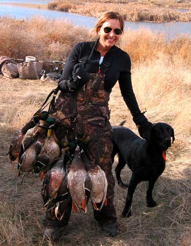 Larisa Turville in the Women and Hunting Photo Gallery