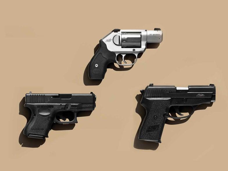 best handguns, top handguns, handguns for self-defense