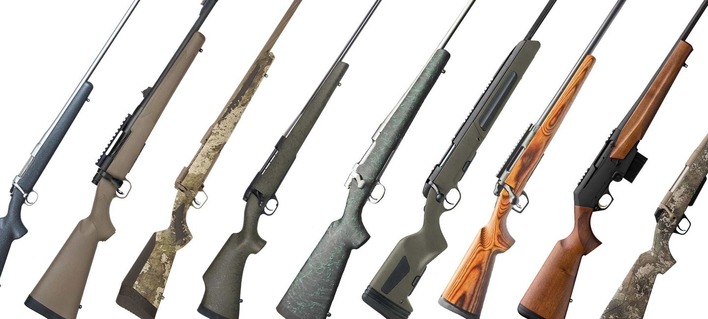 new hunting rifles from shot show